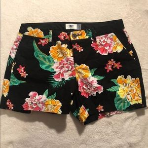 Old Navy Floral Shorts Size 4